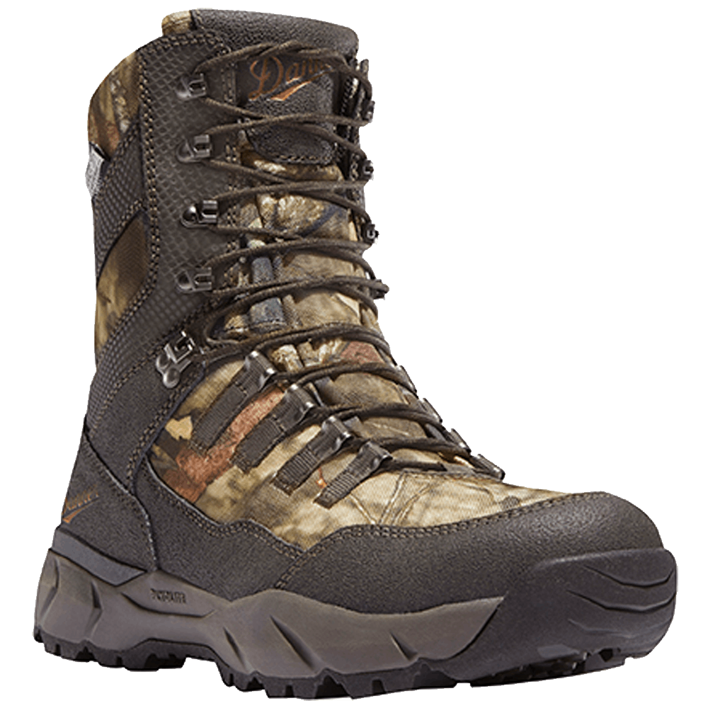 8.5D Danner Vital 8in Insulated Hunt Boot Mossy Oak Break-Up Country
