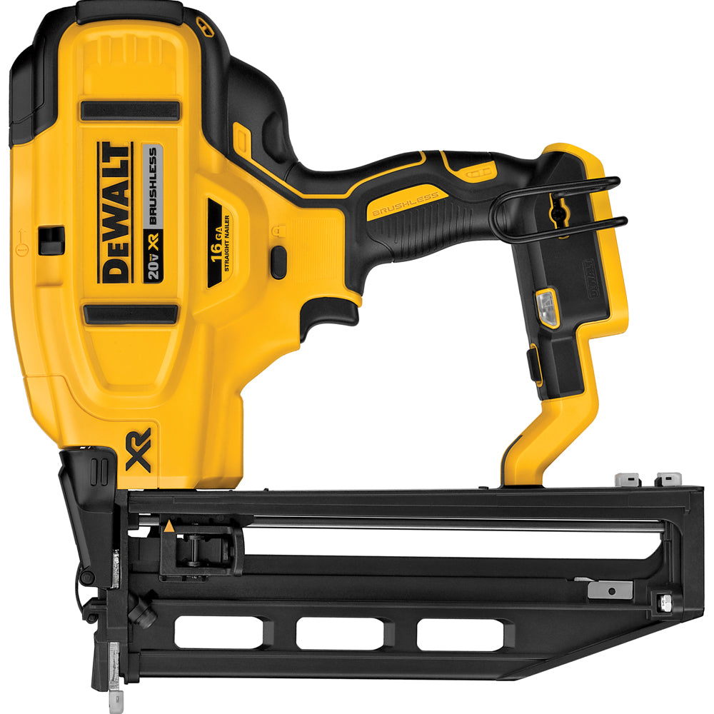 DeWalt 20V MAX XR 16-Gauge Cordless Straight Finish Nailer Bare (Tool Only)