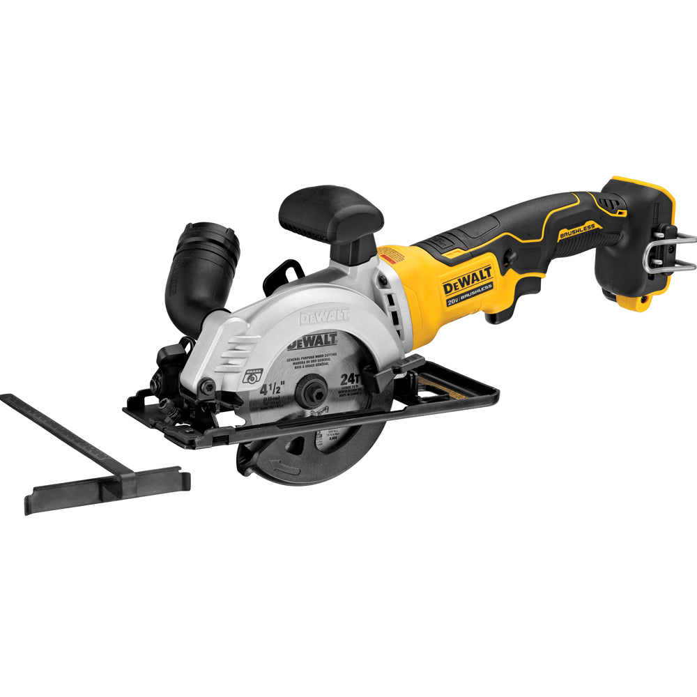 DeWalt Atomic 20V MAX Brushless 4-1/2 Inches Cordless Circular Saw Bare (Tool Only)