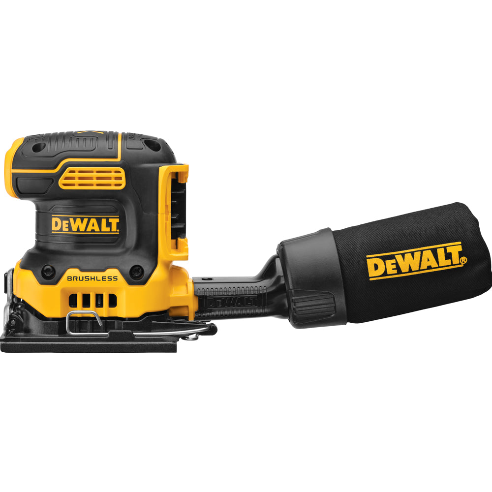 DeWalt 20V MAX XR Brushless Cordless 1/4 Sheet Sander Bare (Tool Only)