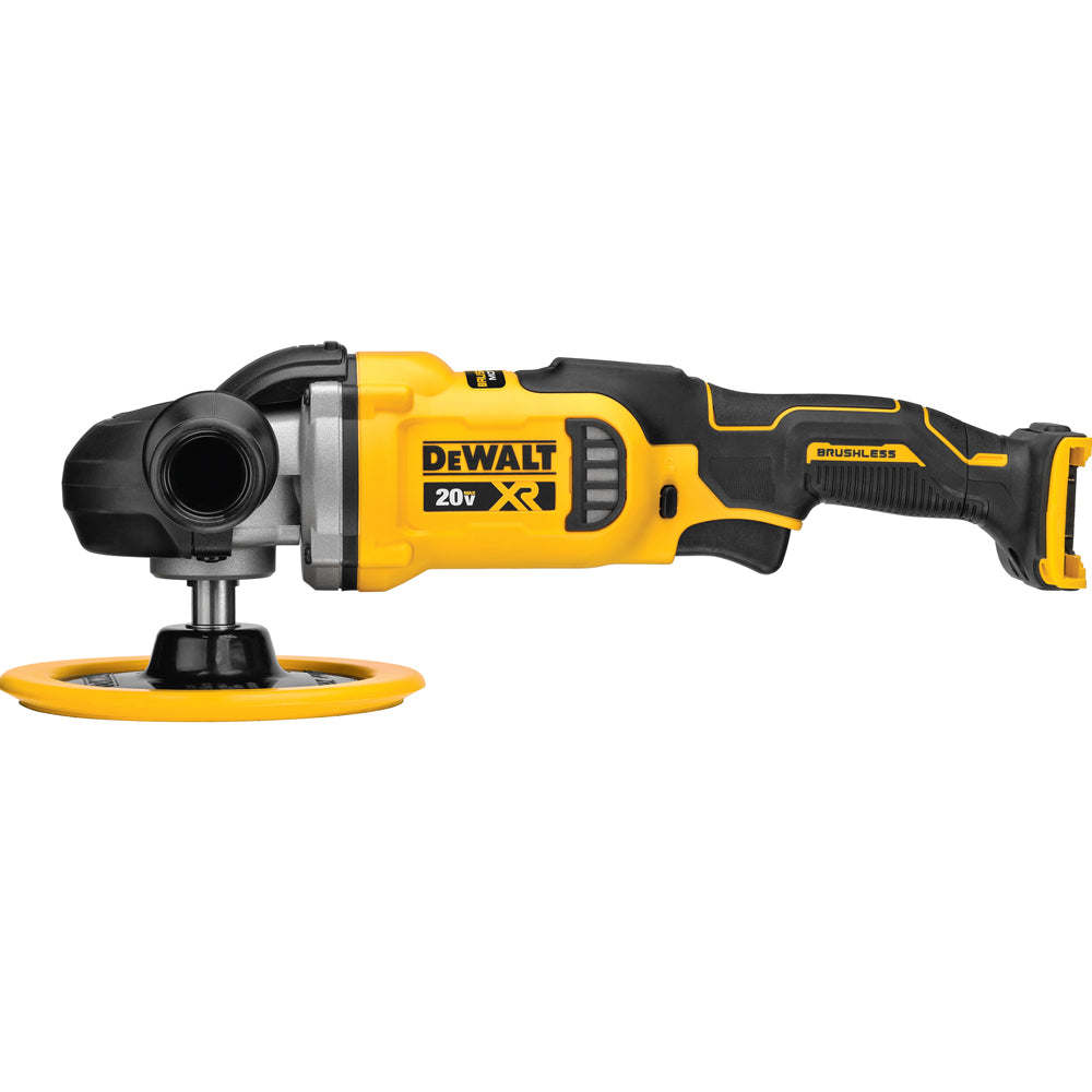 DeWalt 20V MAX XR 7-Inch Variable-Speed Rotary Polisher Bare (Tool Only) DCM849B