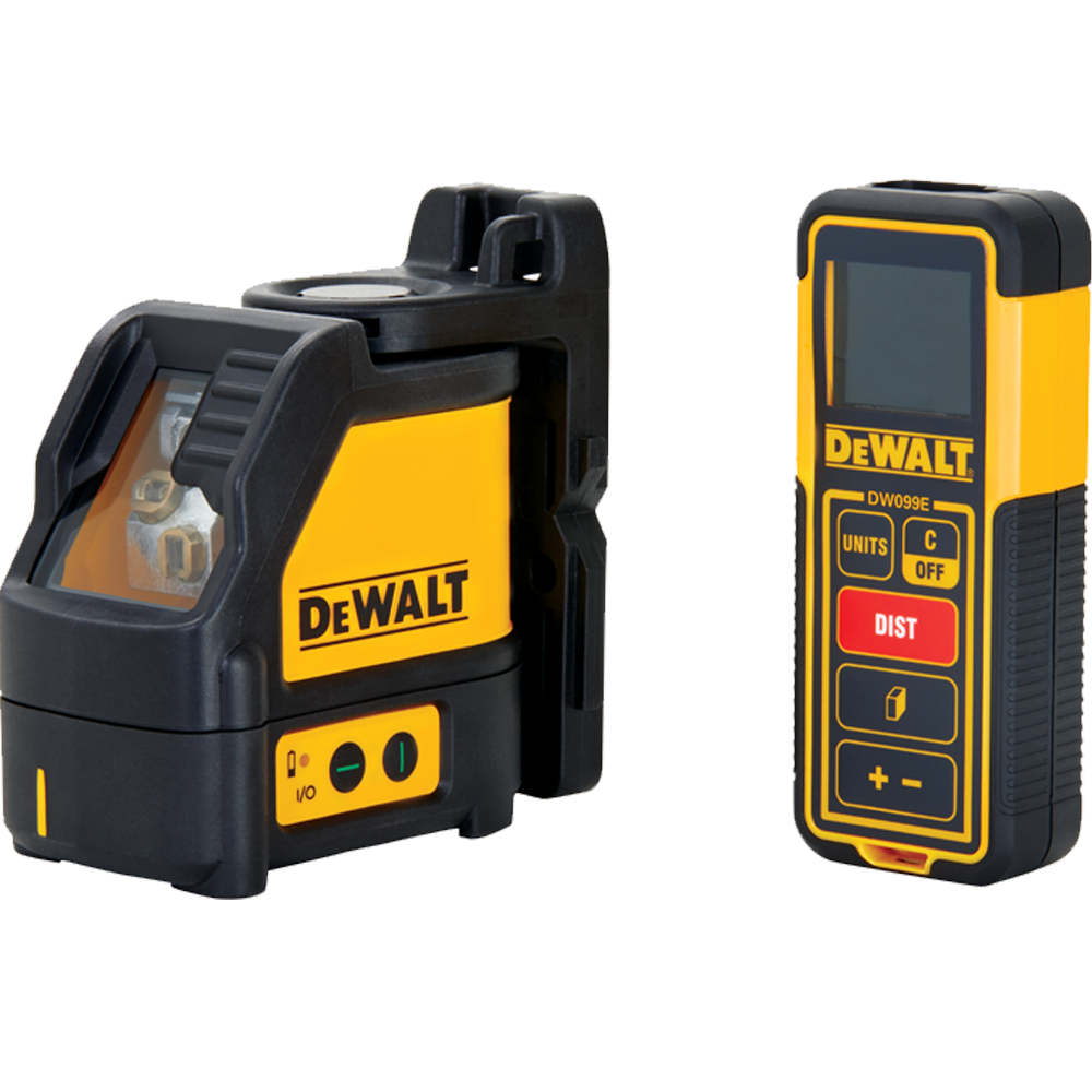 DeWalt Green Line Laser And 100-Foot Laser Distance Measurer