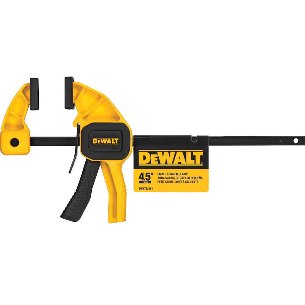"DeWalt 4-1/2"" Small Trigger Clamp"