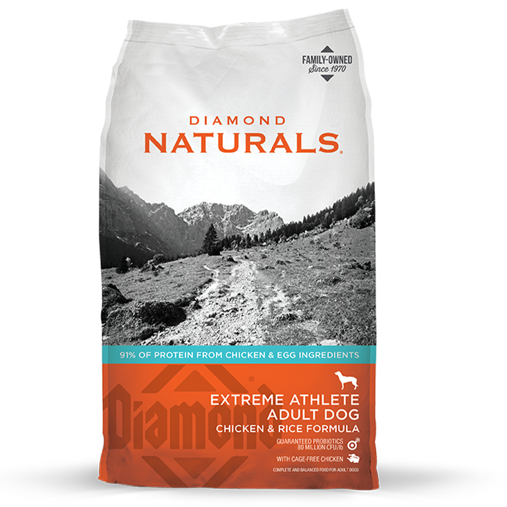 Diamond Naturals Extreme Athlete Adult Dry Dog Food 40-lbs