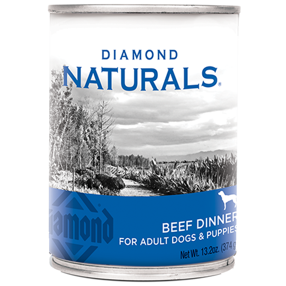 Diamond Naturals Beef Dinner for Dogs 13.2-oz