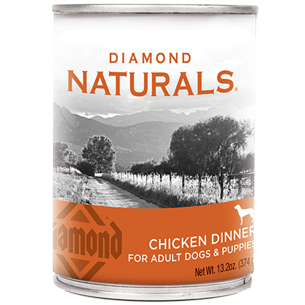 Diamond Natural Chicken Dinner for Dogs 13.2-oz