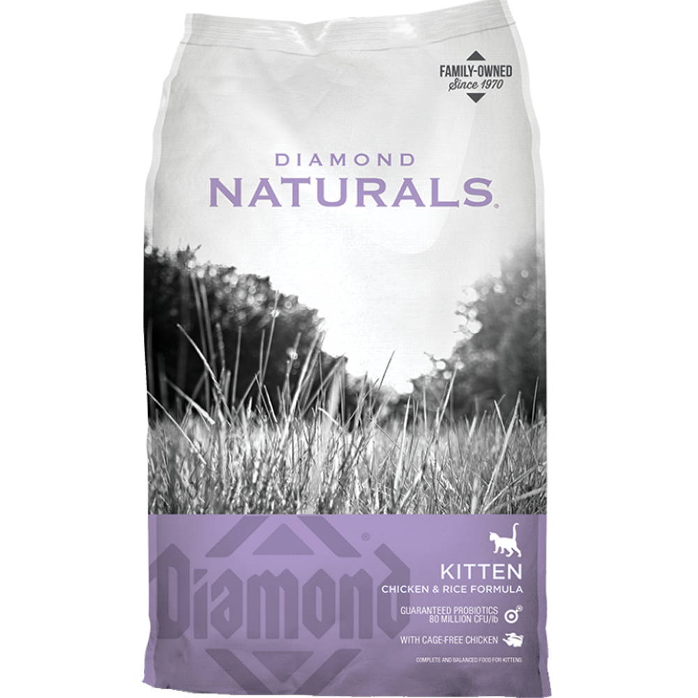 Diamond Naturals Kitten Dry Cat Food 6 lb