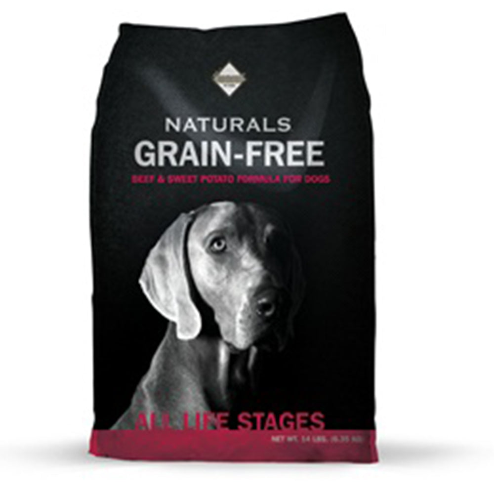 Diamond Naturals Grain Free Beef and Sweet Potato Formula 14-lbs