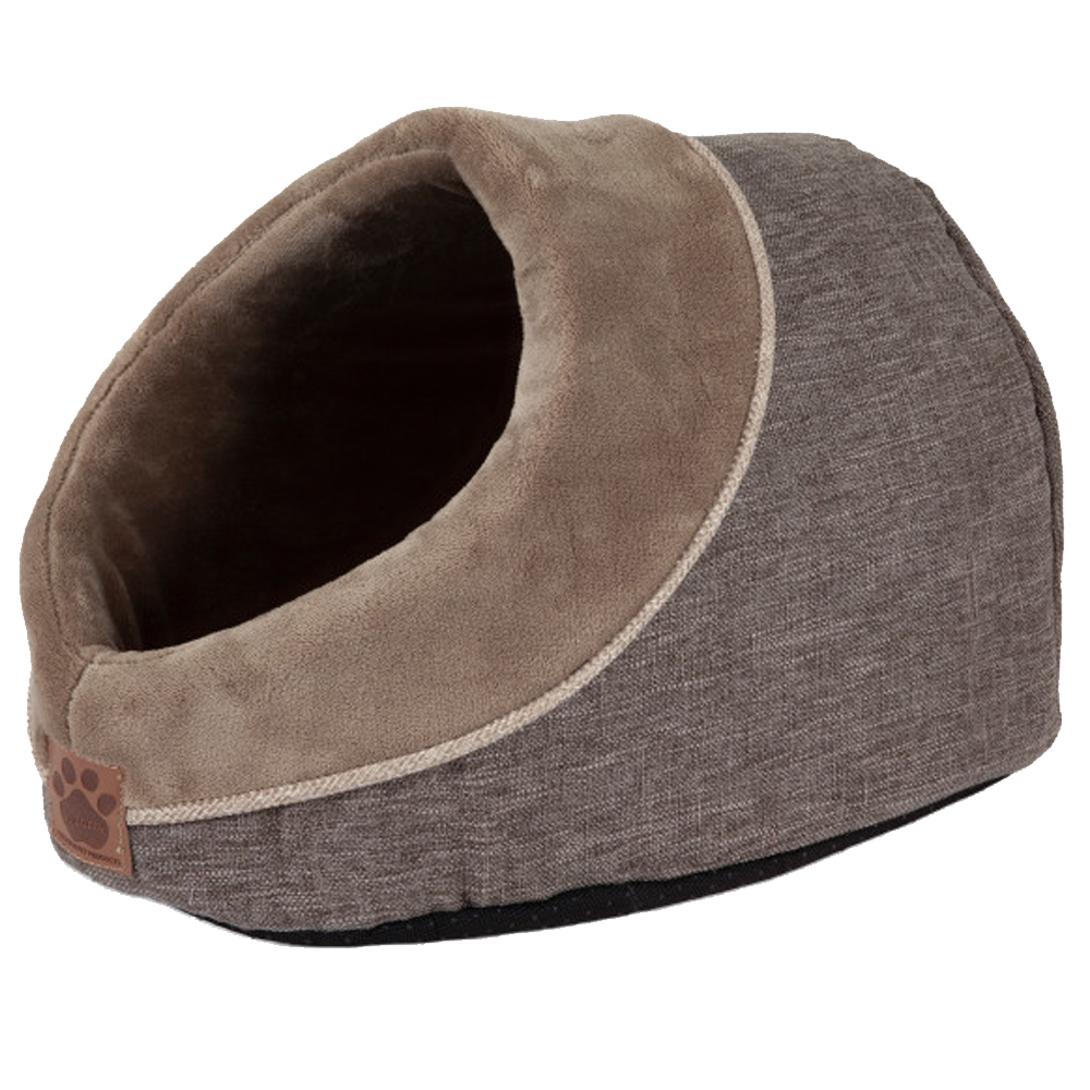 Dog Bed Hide Seek Brown