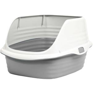 Petmate Stay Fresh Rimmed Litter Pan
