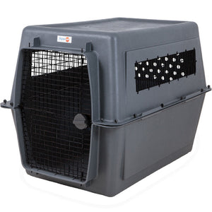 Aspen Pet 48-Inch Giant Pet Porter Dark Gray