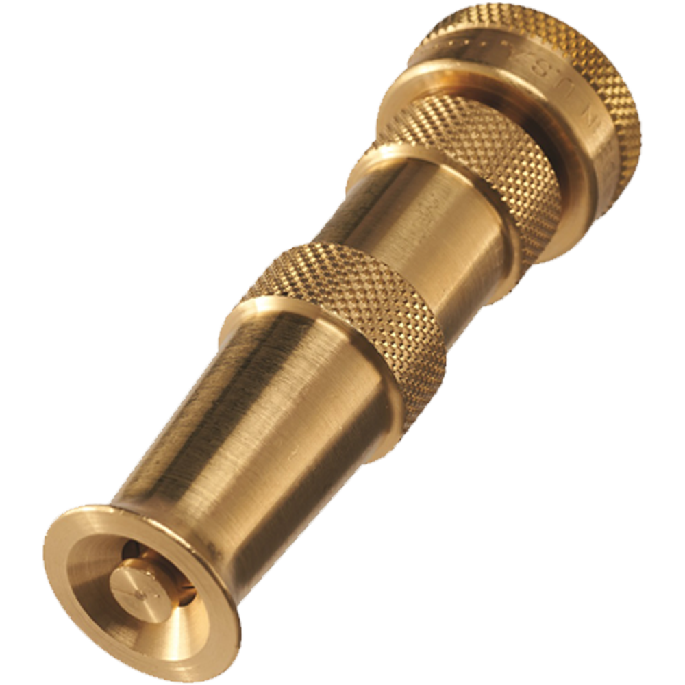 Dramm Brass Adjustable Hose Nozzle