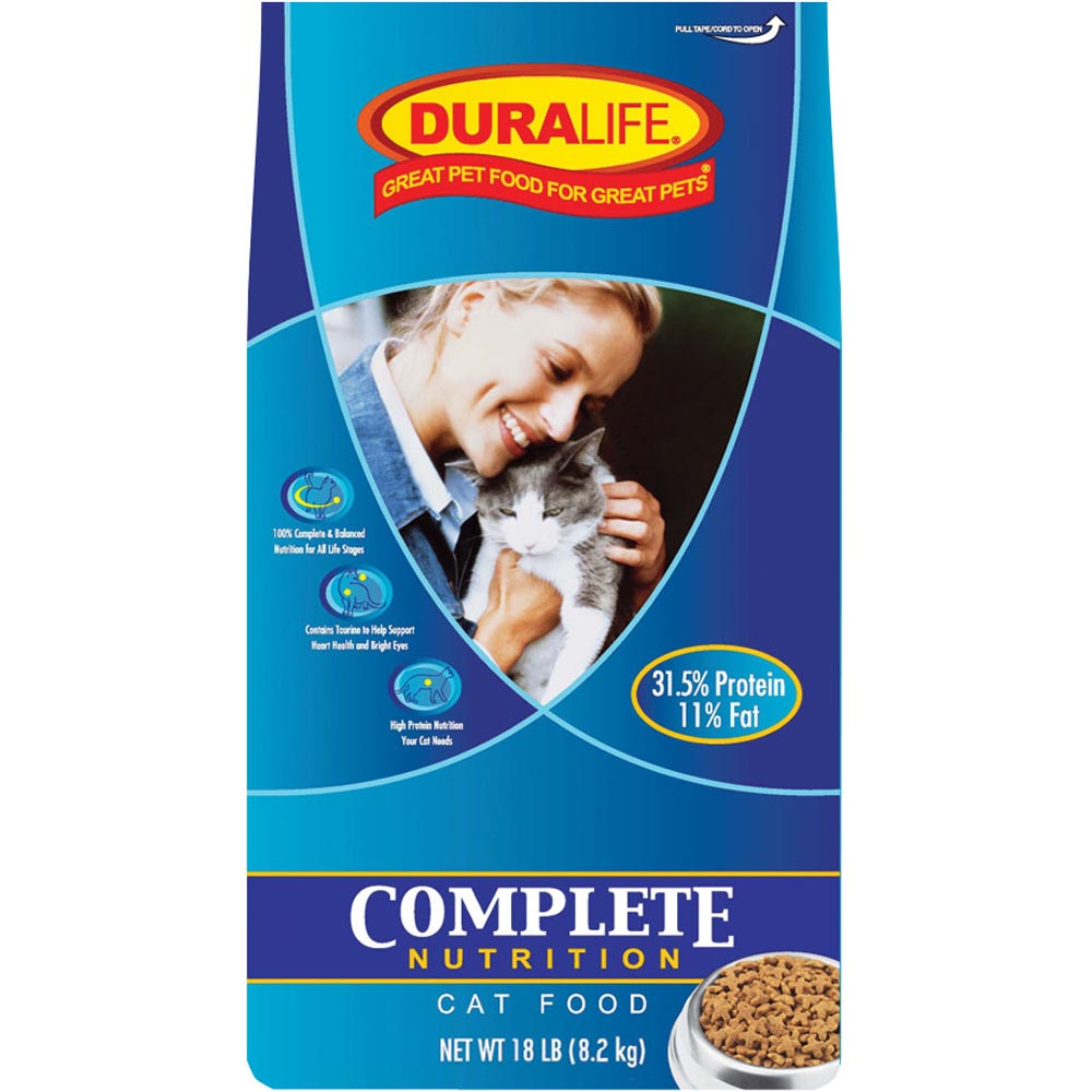 Duralife Complete Cat Food 18-Lbs