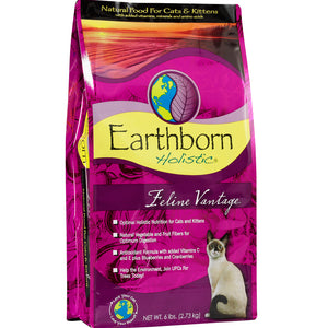 Earthborn Holistic Feline Vantage Dry Kitten And Cat Food 5-lb