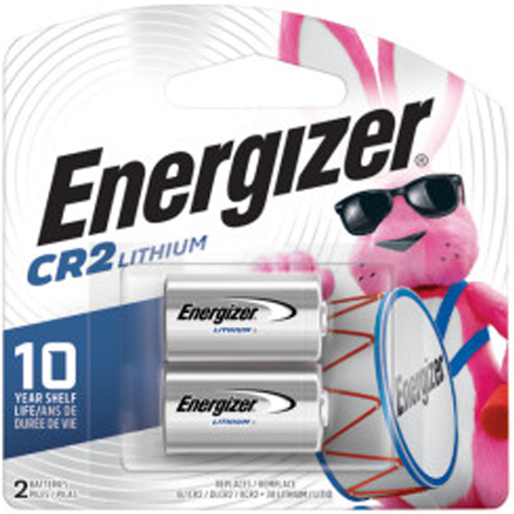 Energizer CR2 Lithium Battery 2-Pack