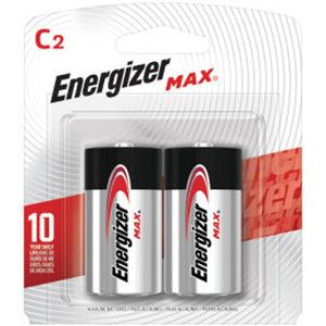 Energizer MAX C Battery 2-Pack