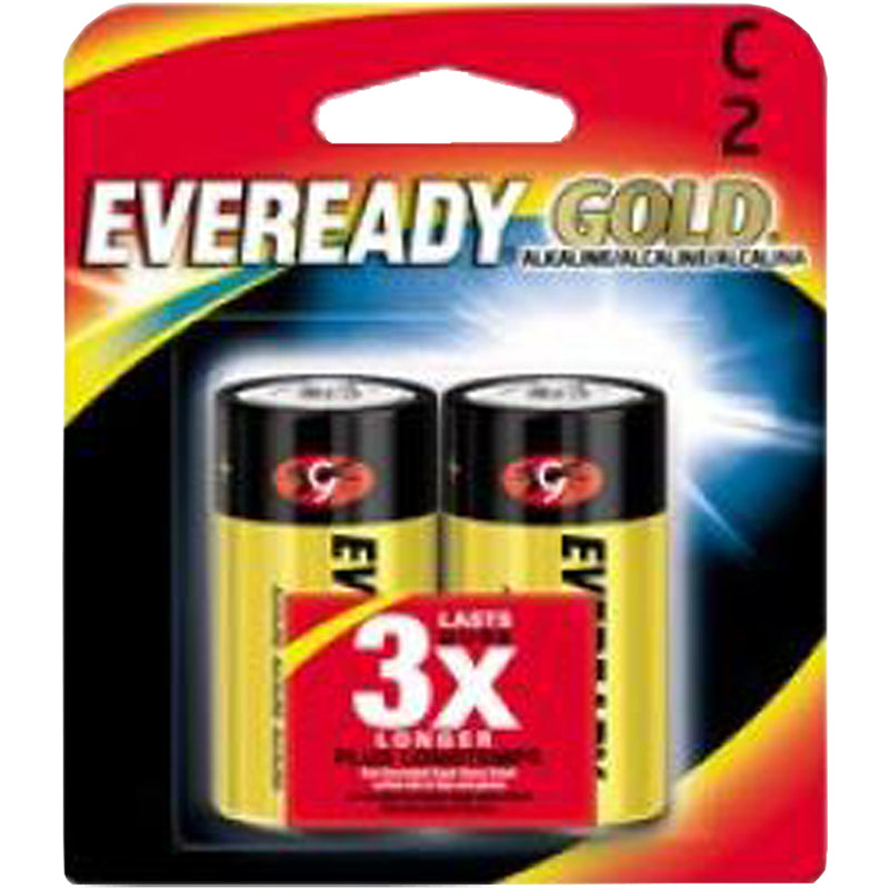 Eveready Gold C Battery 2-Pack