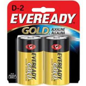 Eveready Gold D Battery 2-Pack
