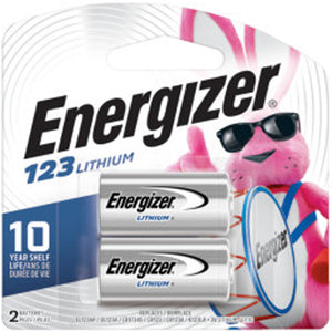 Energizer 123 Photo Battery 2-Pack