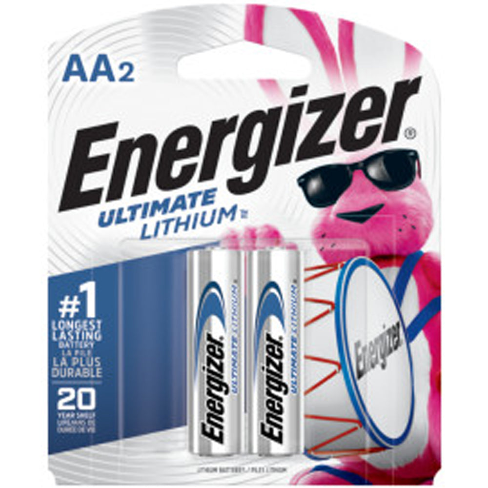 Energizer AA Ultimate Lithium 2-Pack