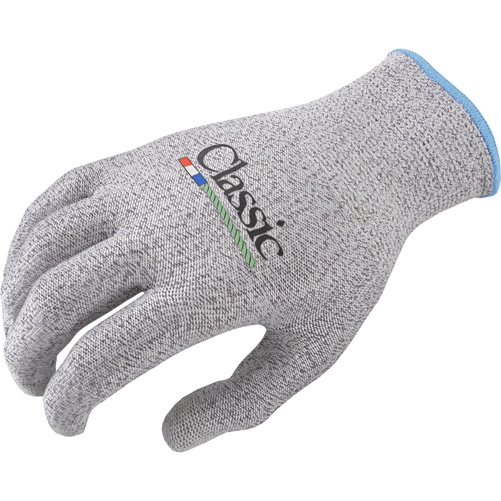 Classic Medium High-Performance Roping Glove Gray 6-Pack