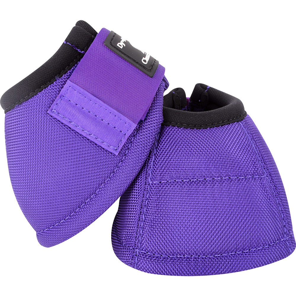 Classic Equine Medium Dyno Turn Bell Boots Purple