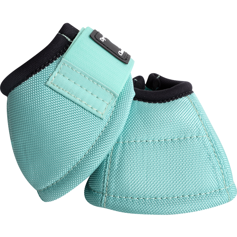 Classic Equine Large Dyno Turn Bell Boots Mint