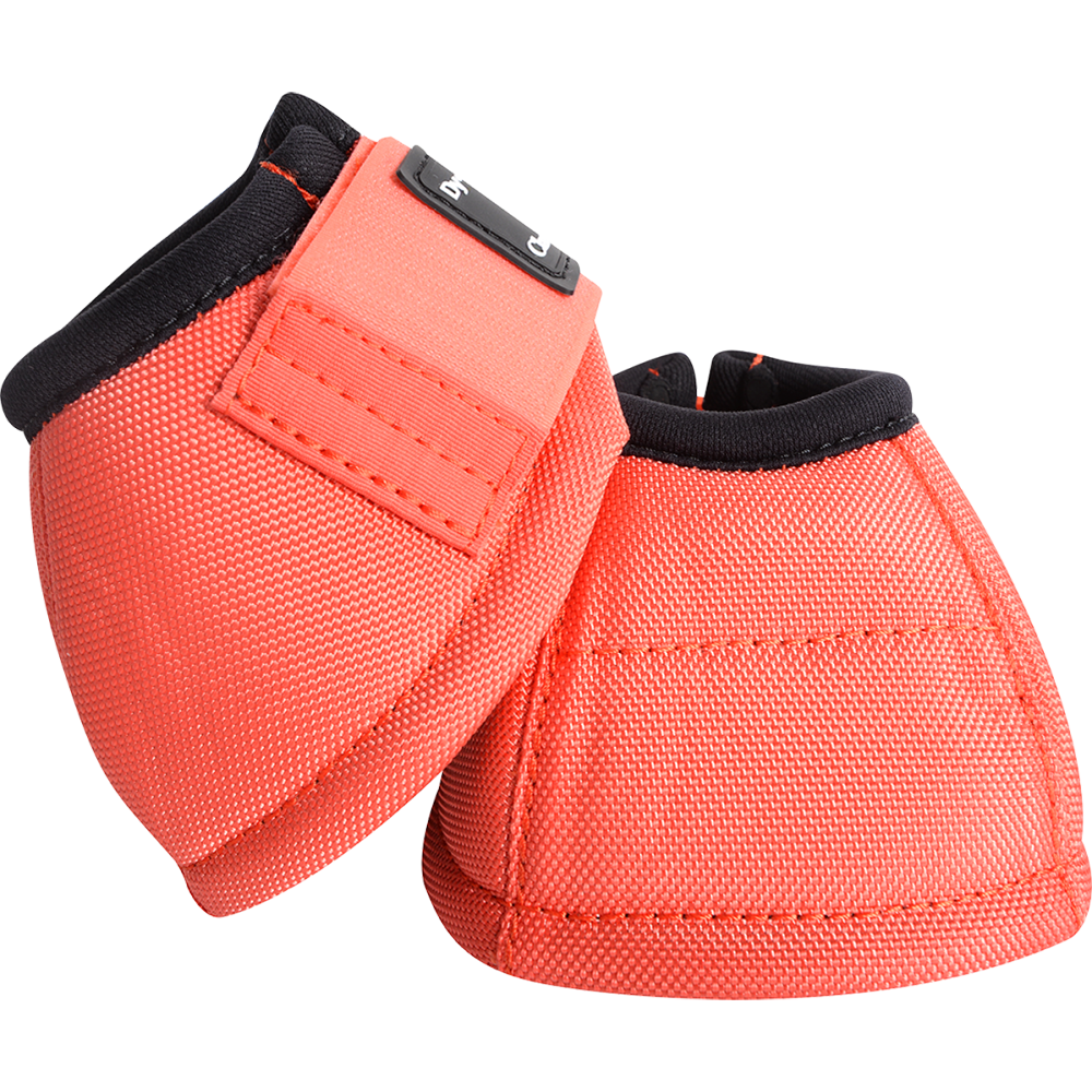 Classic Equine Medium Dyno Turn Bell Boot Coral