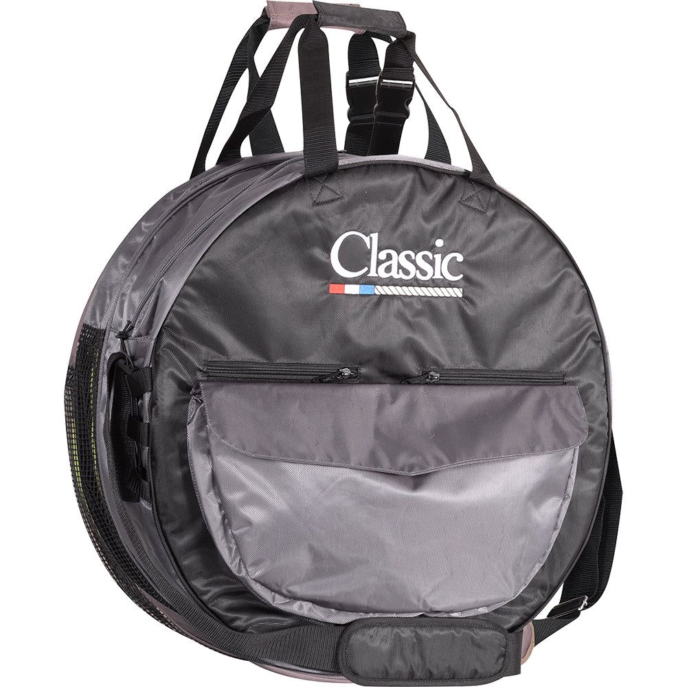 Classic Deluxe Rope Bag Black And Gray
