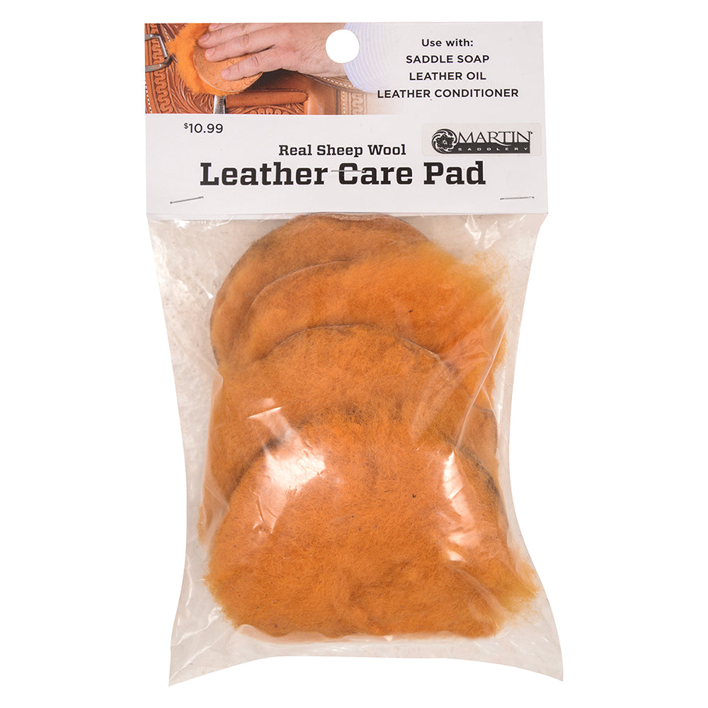 Martin Saddlery Leather Care Pads