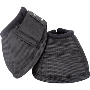Classic Equine Large Dyno Turn Bell Boots Black