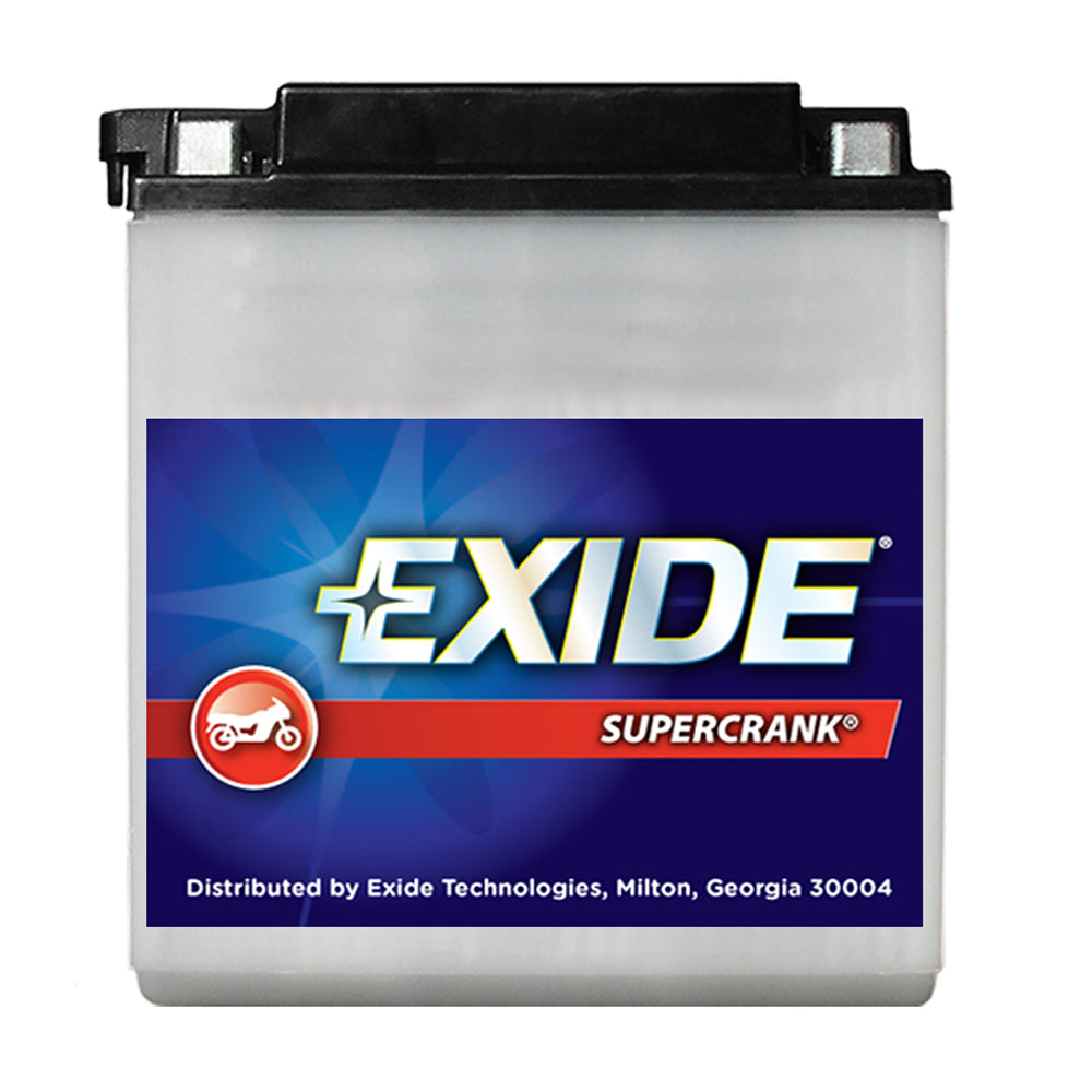 Exide SuperCrank Conventional Battery 12N5-4B
