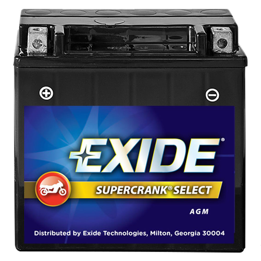 Exide SuperCrank Select AGM Battery 12-BS