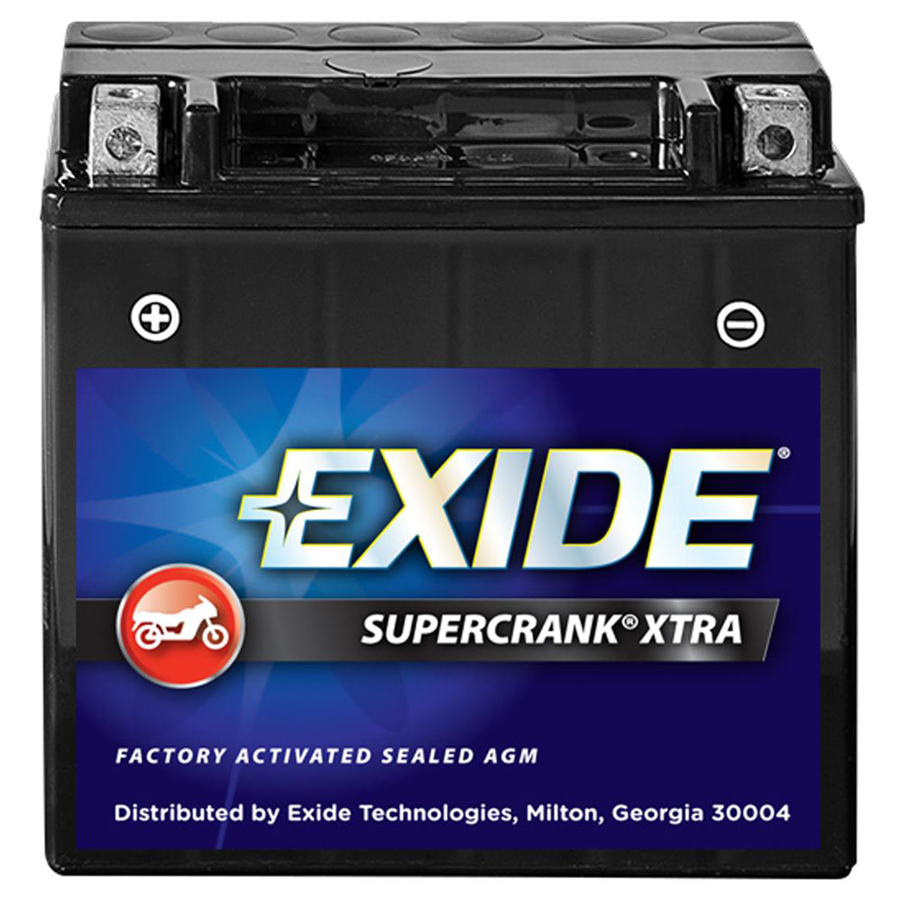 Exide SuperCrank Xtra Factory Activated Battery SC14FA