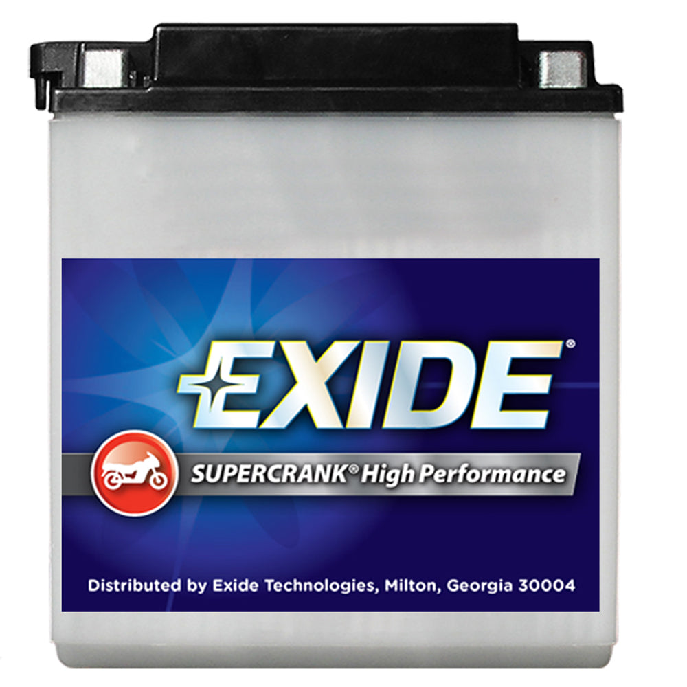 Exide SuperCrank High-Performance Battery 16CL-B