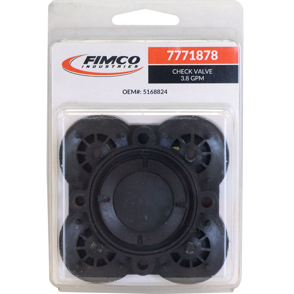 Fimco Check Valve- For 3.8 GPM Pump 7771878