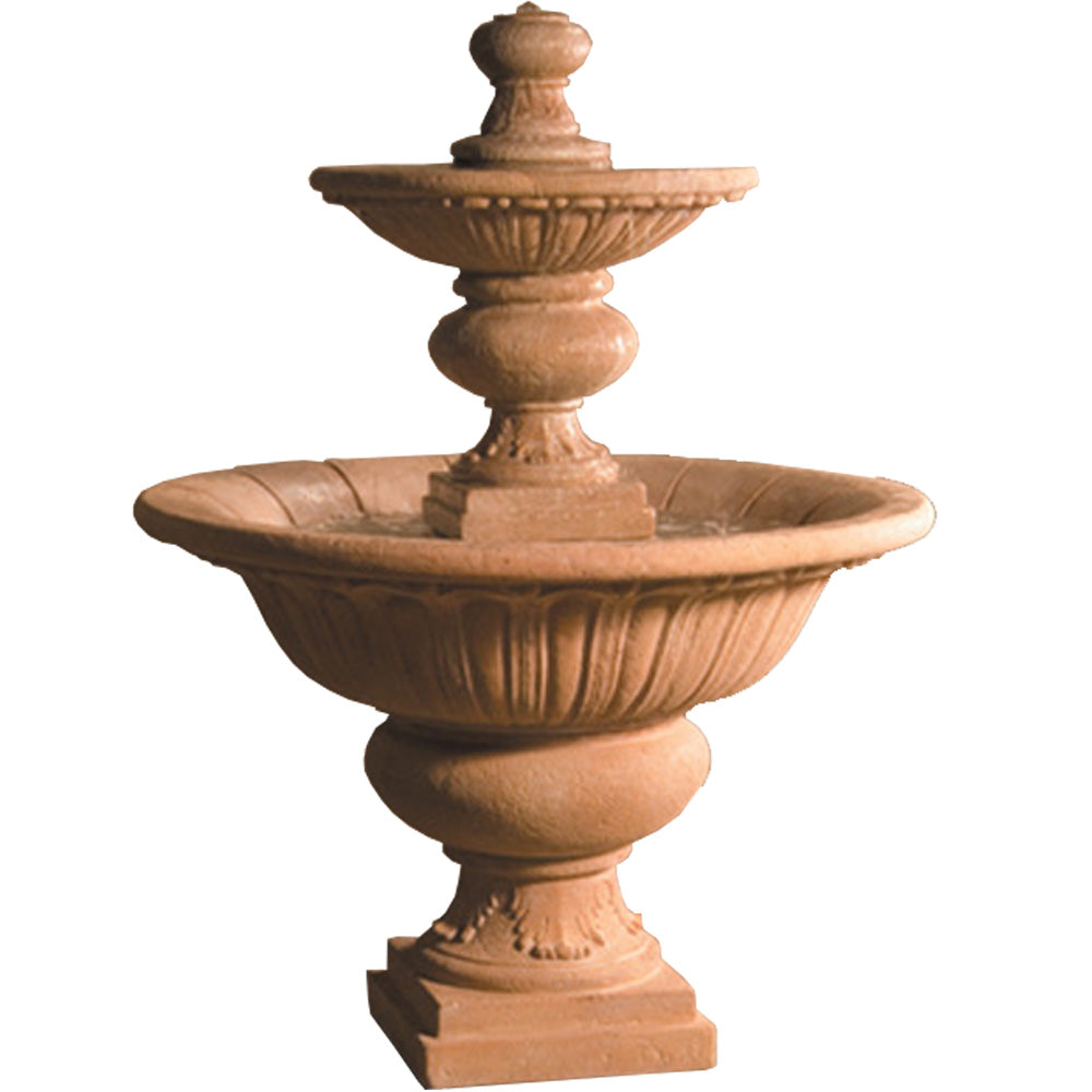 Fiore Stone Large Formal Garden Fountain