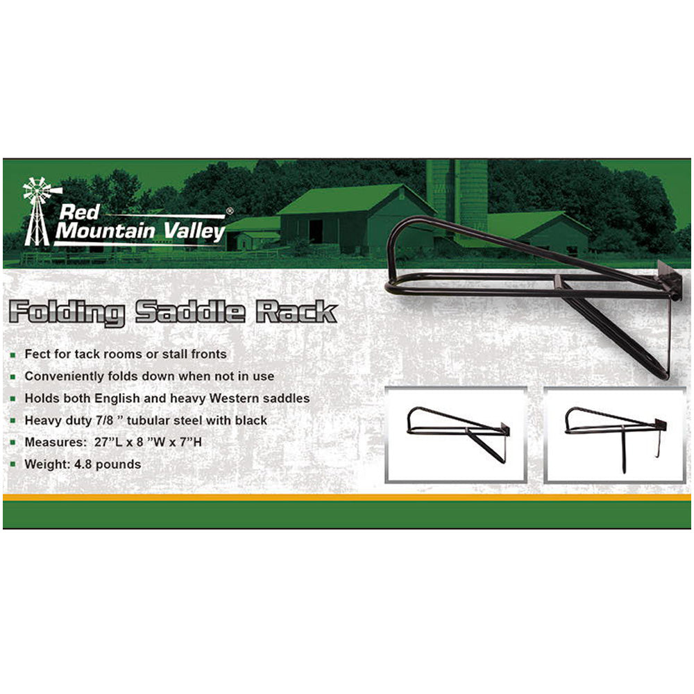 Red Mountain Valley Folding Saddle Rack