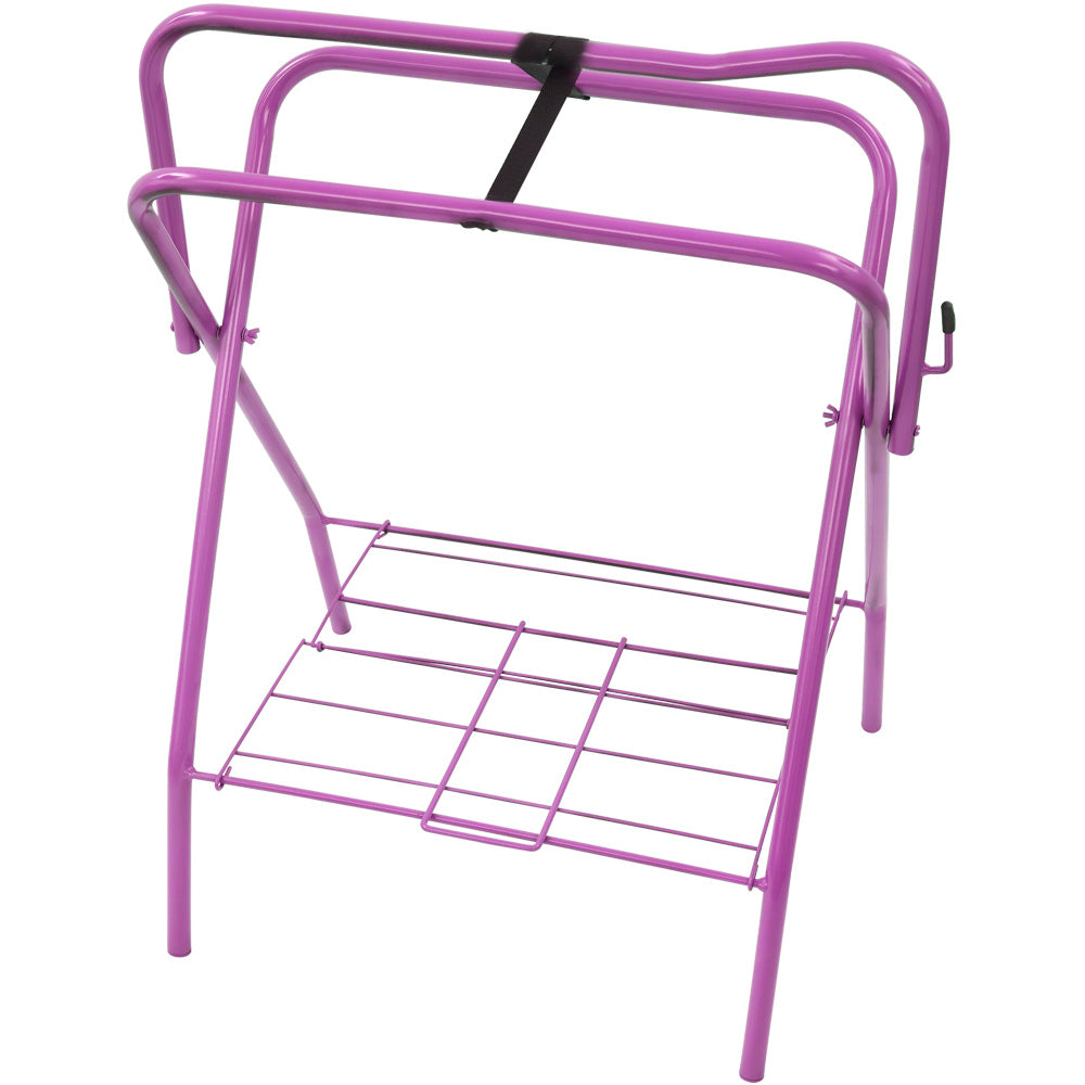 Red Mountain Valley Folding Saddle Rack Purple