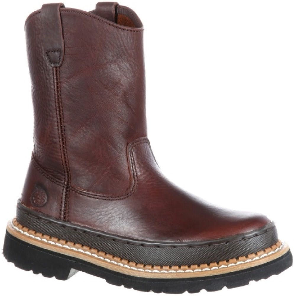 12 Child Giant Wellington Boot Soggy Brown