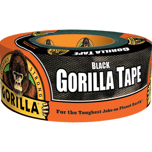 Gorilla Glue 12-Yard Black Gorilla Tape