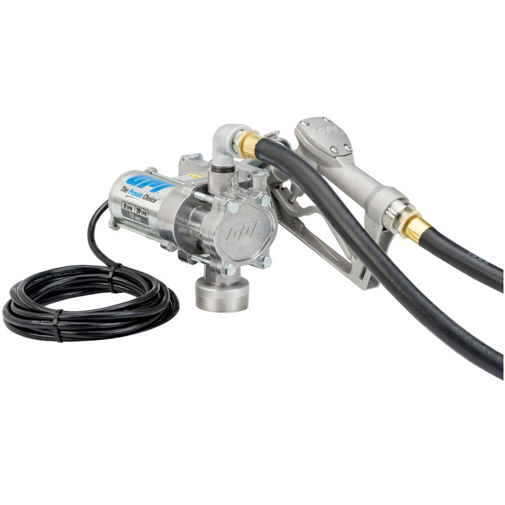 EZ-8 12V 8-GPM Fuel Transfer Pump