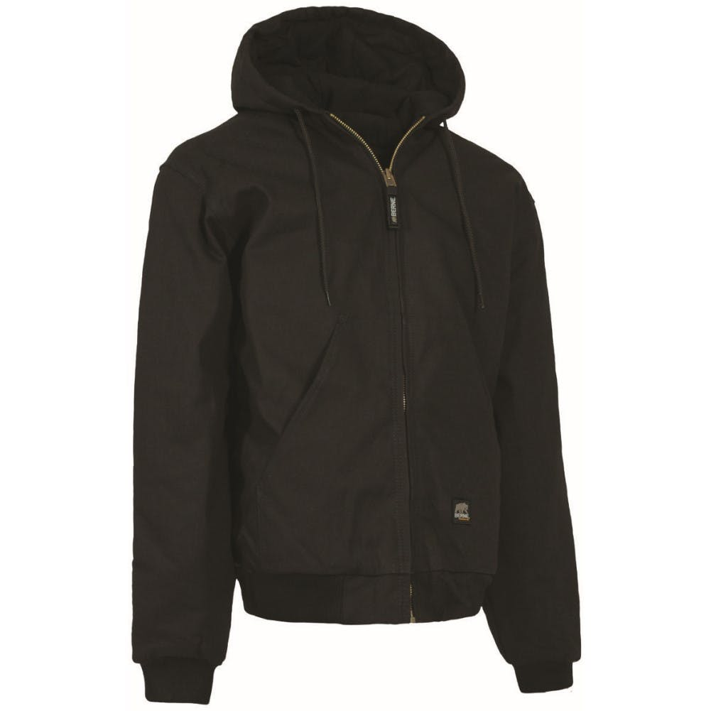 3X-Large Tall Hooded Jacket Black