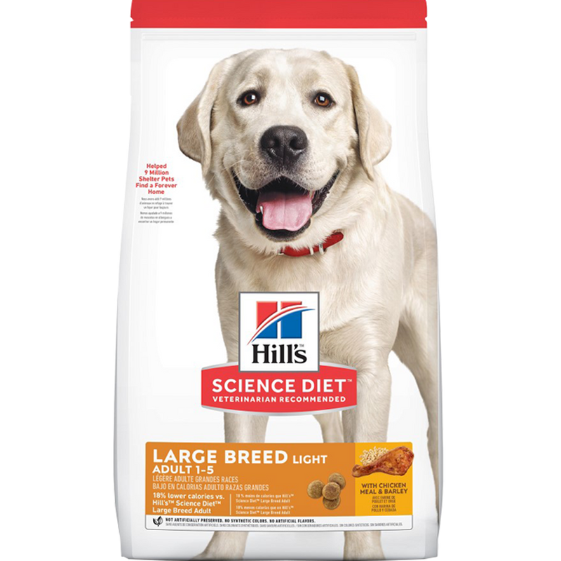 Science Diet Large Breed Adult Light 30 lb