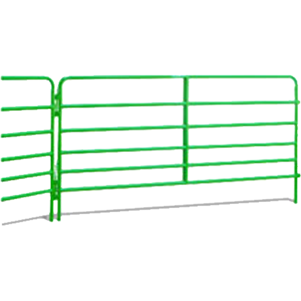 Hutchison-Western 12-Foot Panel With 4-Foot Bow Gate Green
