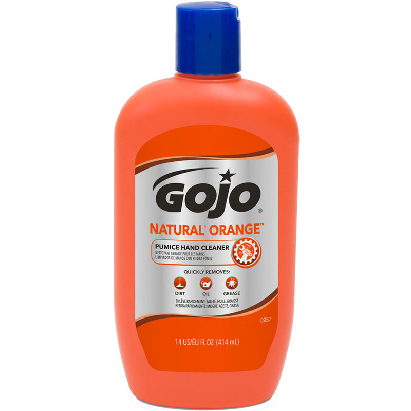 GOJO Natural Orange Pumice Hand Cleaner 14-Oz