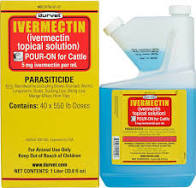 Ivermectin Cattle Pour-On 1-Liter