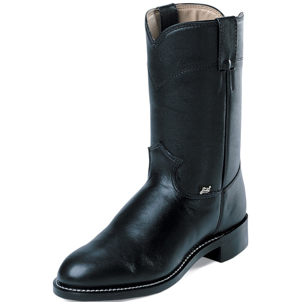 7D Temple Black Pullon Boot