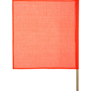 Keeper 18-Inch x 18-Inch Safety Flag With Wood Dowel