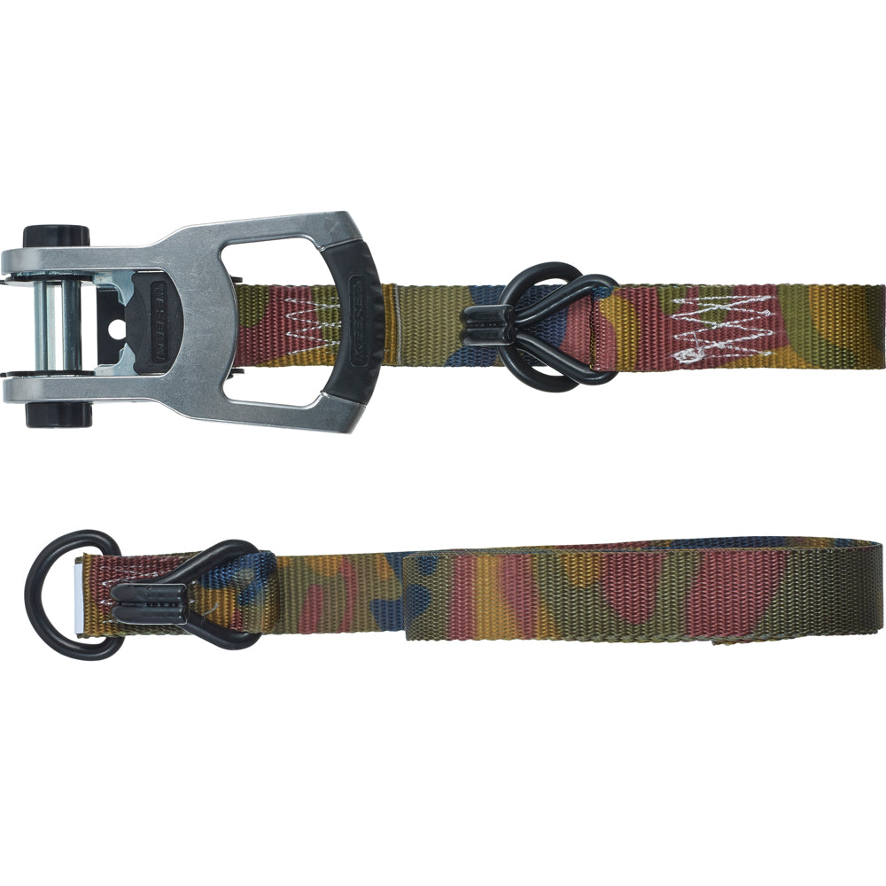 Keeper Corporation Tie-Down 1-1/4 Inch x 16-Foot Ratchet Woodland Camo
